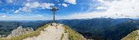 Panorama Mt. Grosse Klammspitze