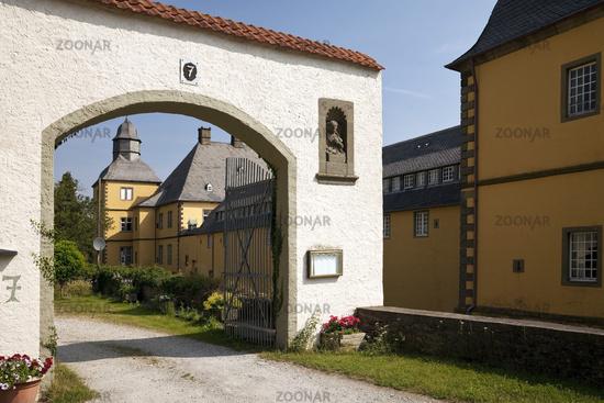 Eringerfeld Castle, Geseke, North Rhine-Westphalia, Germany, Europe
