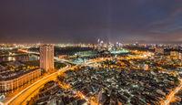 Saigon/hochiminh City by night