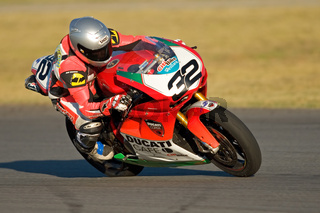 Supersport bike action
