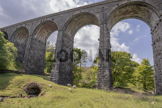 Dent Head Viaduct in Yorkshire