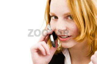 Handygespräch