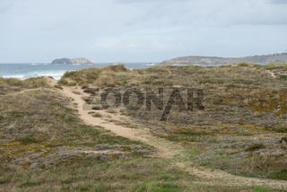 Küste bei Ferrol in Spanien