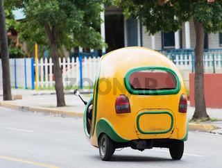 Taxi Coco Mobil in Varadero Cuba