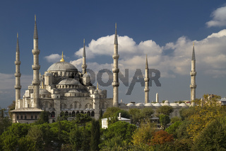 View on The Blue Mosque
