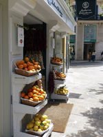 Delicacies shop in Palma de Majorca