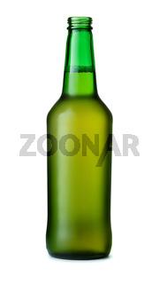 Open beer bottle