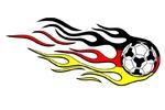 Fußball Deutschlandfarben