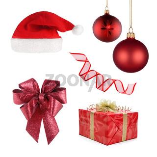 Weihnachtsset mit 6 verschiedenen Objekten