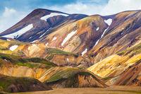 Valley National Park Landmannalaugar