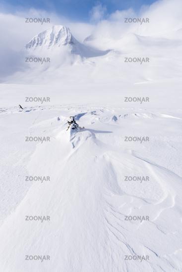 Winter landscape, Stuor Reaiddavaggi, Lapland, Sweden