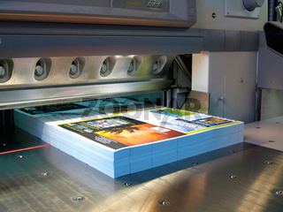 cutter in a printing company