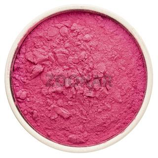 aronia berry powder in a round bowl,