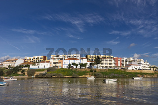 Stadtpanorama von Ferragudo
