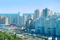 Kiev modern architecture.  Ukraine