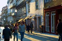 People at Old Town. Porto