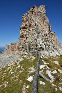Cirjoch; Puezgruppe; Dolomiten; Suedtirol;