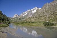 In Valley Veny near Monte Bianco