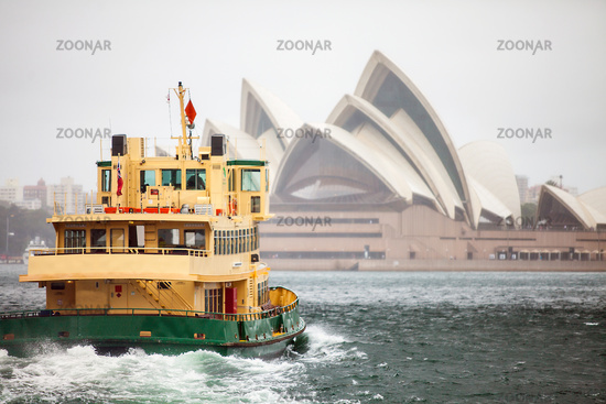 Sydney with a view of the opera house