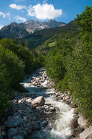 Landscape in South Tyrol