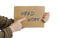 Hand with cardboard Need work