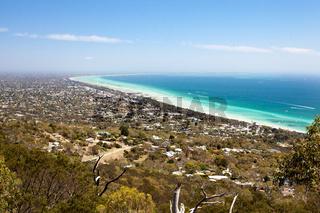 Murray's Lookout over Mornington Peninsula