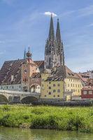 Regensburg - capital of the Upper Palatinate