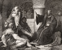 Jan Hus preaching at prison
