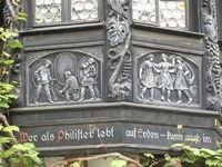 Fassade Rüdesheim, Fränkische Schweiz