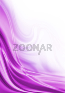 Abstract purple wave