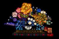 Chinese Lanterns lit