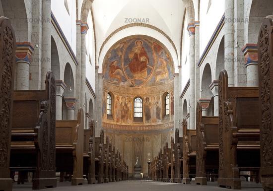 basilica minor Saint Andreas, Knechsteden Abbey, Dormagen, North Rhine-Westphalia, Germany, Europe