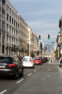Straßenverkehr Potsdamer Straße