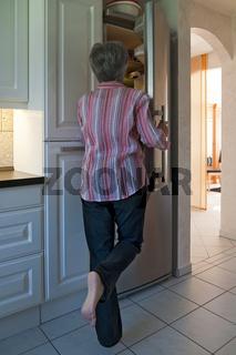 Blick in den Kühlschrank