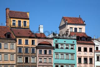 Altstädter Markt, Warschau, Polen