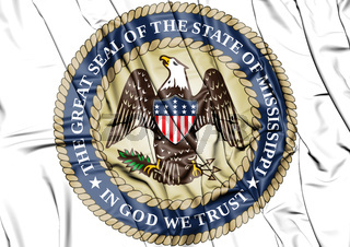 3D State Seal of Mississippi