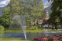 spa park in Mittenwald
