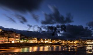 Saint Ives Harbor Dark