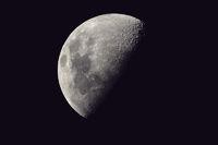 Mond 25.11.09 hochauflösend