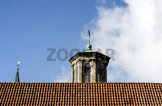 Rathaus mit Kirchenenkuppel Stadthagen