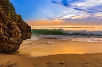 Dreamland Beach in Bali Indonesia