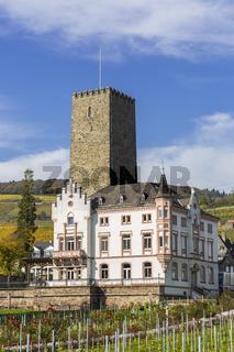 Boosenburg in Rüdesheim am Rhein, Weinstadt in Deutschland