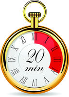 mechanical watch timer 20 minutes