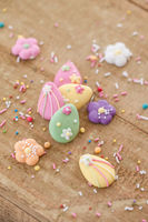 Easter sugar sprinkles