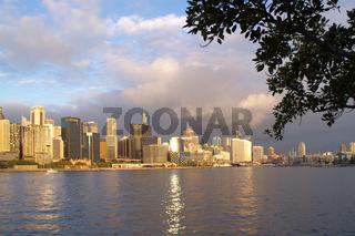 Darling Harbor Panorama Sydney Australia