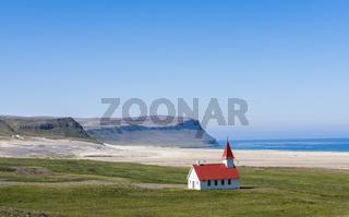 Church at Breidavik, Iceland