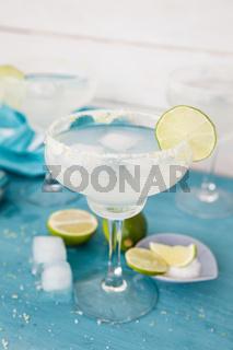 Eiskalte Margarita Cocktails