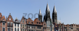 Grand Place, Tournai, Wallonia, Belgium