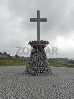 Denkmal im ehemaligen KZ Gross-Rosen
