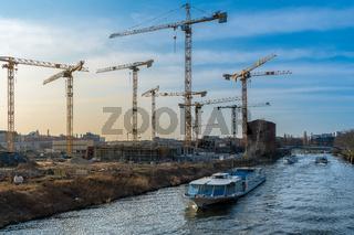 Grossbaustelle Europacity in  Berlin